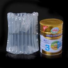 Saco de bolha para embalagem de leite em pó