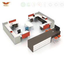 Melamine Office Work Point System Cubicle Parttion Solution (HY-261)