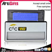 Insignia magnética en blanco de aluminio del nuevo producto