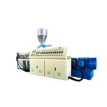 Конический двухшнековый экструдер для профилей ПВХ с одновременным вращением SJSZ65