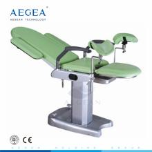 AG-S102B Tratamiento femenino con mesa de examen obstétrico médico de control de la primavera de gas