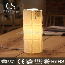 Fashion models check pattern ceramic table lamp on sale
