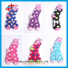 2015 winter ladies's terry microfiber cozy thick socks custom logo