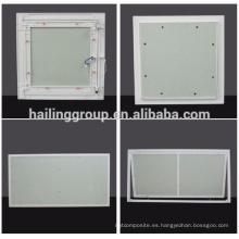 Panel de acceso de techo de yeso de aluminio / a prueba de agua