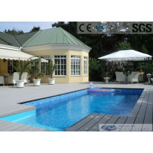 150 * 25mm WPC Hollow Composite Decking