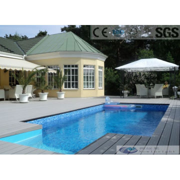 150*25mm WPC Hollow Composite Decking