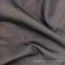Nouveau tissu élégant de tissu pongé teint polyester lisse