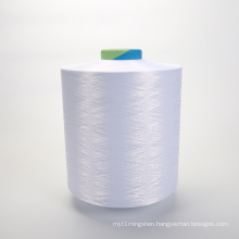 optical white bleach white 300/96 100% polyester filament yarn DTY