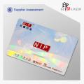 Transparent Custom ID Hologram Overlays with Custom Text Or Logo