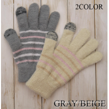 Hot Sale Brushed Winter Outdoor Ladies' Warm Gloves