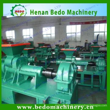 2015 die beliebtesten Biomasse Kohle Brikett Maschine / Zuckerrohr Bagasse Chacoal Stick Brikett Maschine 008613253417552