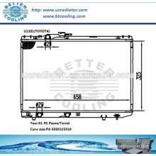 Radiator For Toyota Tercel/Paseo 91-95 OEM:16400-11490/--11500/-11520