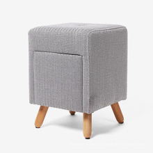 New Design Square Comfortable Sofa Chair with a Drawer