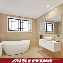 Lavandería de los armarios de baño de la laca del nuevo diseño para la venta al por mayor (AIS-B017)