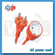 Meilleur cordon de rallonge électrique électrique européen