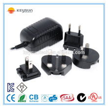 Steckdose Mehrfachsteckdose 12v 1amp austauschbarer Adapter