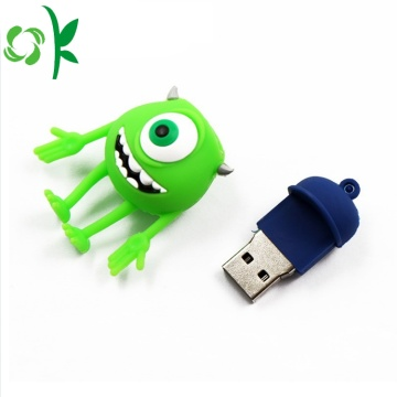 Geassorteerde USB Flash Drives Silicone USB Cover