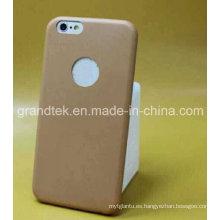 Caja ultrafina al por mayor del cuero de la PU para la caja del iPhone 6