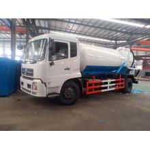 Caminhão tanque de sucção de esgoto a vácuo
