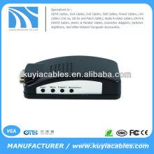 BNC TV composto S-vídeo VGA para PC VGA CRT LCD Converter
