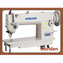 Wd-0302 Single Needle High Speed Top and Bottom Feed Lockstitch Heavy Duty Leather Machine