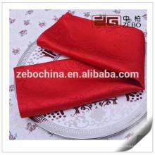 100% poliéster Hilo de alta calidad teñido de tela Venta al por mayor servilletas de mesa
