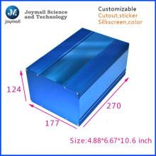 Blue Color Aluminum Die Casting Box