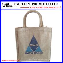 Eco-Friendly Logo personalizado promocionais saco de juta (EP-B581704)