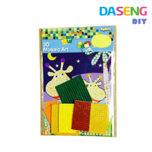 Supply peel mosaic art with opp bag packing