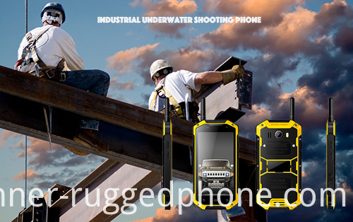 Industrial Underwater Shooting Phone