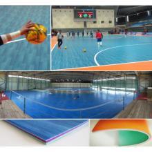 Plancher de sports de futsal de PVC d'intérieur