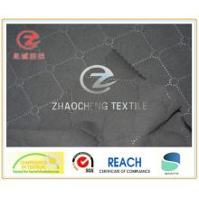Скучный полиэпонж, скрепленный флисовой тканью для одежды (ZCGF104)