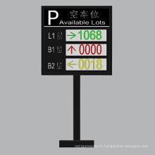 Écran extérieur de guide de voiture de la couleur P10 double et de trois-LED