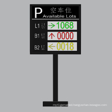 Outdoor P10 Double Color and Three-Layer LED Car Guide Screen