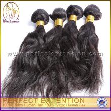 Qualitätsprodukt-natürliches wellenförmiges erstklassiges Jungfrau-indisches Haar