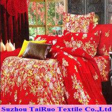 100% Polyester Pongee with Disperse Printed for Bedsheet Fabric