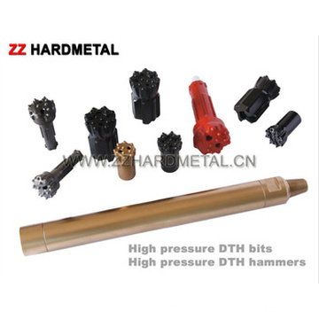 Threaded Drill Bit for Well Drilling