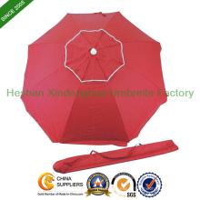 180cm diamètre Double couche extérieure parasol pour la plage (BU - 0036D)
