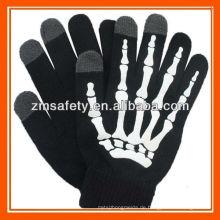 Skeleton Nachricht SMS Touch Mobile Handschuhe