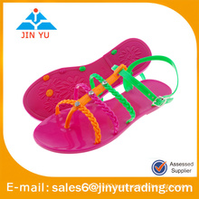 2016 pvc sandals Candy Colors