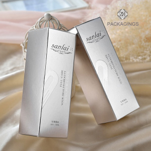 Personal skin care cream paper packaging box