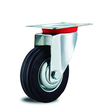 Industrial Iron Core Rubber Swivel Casters