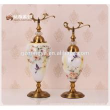 Fabrik Versorgung Elegant Kleine Vase Glas Blume Luxus Blume Vase Eletrcoplating Home Decor
