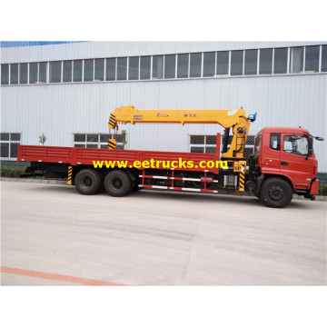 Dongfeng 10 Wheeler 14ton Camions Grues