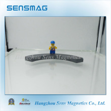 Customized Large Arc Ferrite Magnet for Motor, Brake