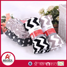 100% polyester printed airline disposable coral fleece blanket