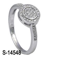 O anel de prata novo de Weding da jóia 925 da forma do estilo (S-14548. JPG)