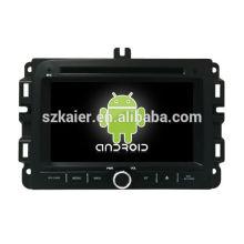 ¡Ocho nucleos! DVD de coche Android 8.0 para Jeep Renegade con pantalla capacitiva de 7 pulgadas / GPS / Mirror Link / DVR / TPMS / OBD2 / WIFI / 4G