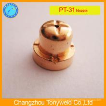 Peças de corte de plasma ponta de bocal de corte PT31