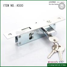 High quality sliding mortise lock for door k500